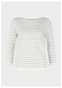 Robin Sweater Ivory Navy