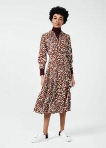 Darcie Dress Red Ivory