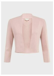Abbey Cardigan Pale Pink