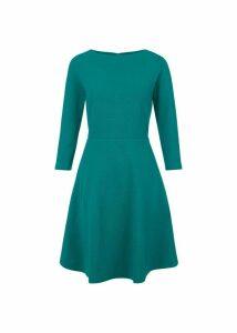 Telula Dress Emerald Green