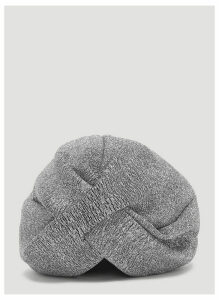 Flapper Lola Knot Hat in Grey size One Size
