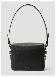 Off-White Diagonal Stripe Cross-Body Bag in Black size One Size