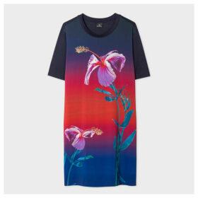 Women's Gradient 'Floral' Print Jersey Dress