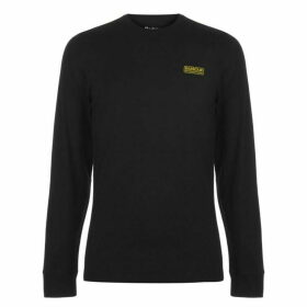 Barbour International Logo Long Sleeve T Shirt