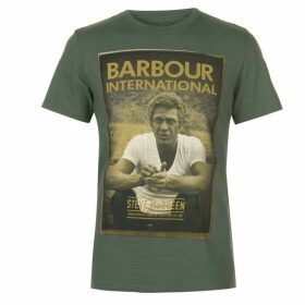 Barbour International Barbour Steve McQueen Relax T Shirt Mens