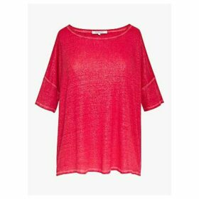 Gerard Darel Joanie Linen T-Shirt
