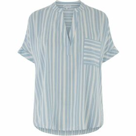 Warehouse Stripe Overhead Top