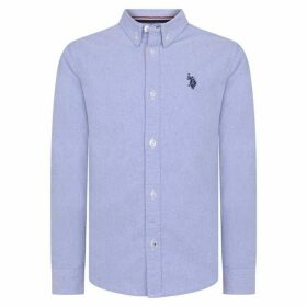 US Polo Assn US Long Sleeve Oxford Shirt
