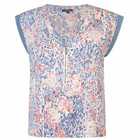 Salsa Splash Blouse Womens