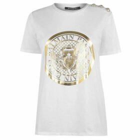 Balmain Coin T Shirt