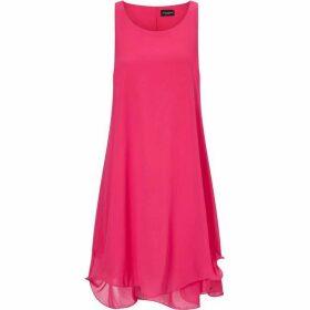 James Lakeland Sleeveless Wave Hem Dress