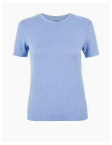 M&S Collection Round Neck Straight Fit T-Shirt