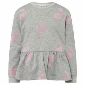 Rose and Wilde Flocked Bunny Sweatshirt