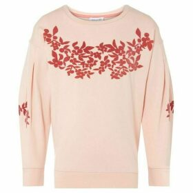 Rose and Wilde Drop Sleeve Floral Sweatshirt