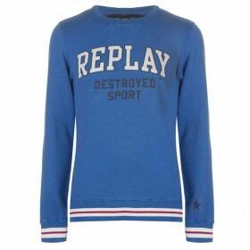 Replay Broken Logo Sweater