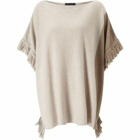 James Lakeland Fringe Bicolour Poncho