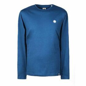 Pretty Green Long Sleeve Cotton T-Shirt