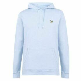 Lyle and Scott Lyle OTH Basic Logo Hoodie - Pool Blue Z800