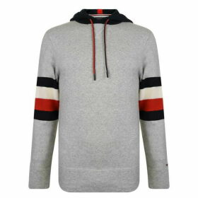 Tommy Hilfiger Block Hooded Sweatshirt - Cloud Htr