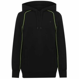 True Religion Neon Pipe Hoodie - Black 1001