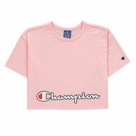 Champion Logo Crop JnG00 - Pink CNP PS024