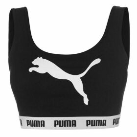 Puma Tape Crop Top Ladies - Black