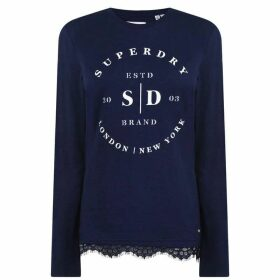 Superdry Superdry Tilly LSTop Ld02 - 11S Navy