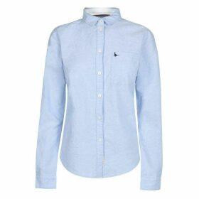 Jack Wills Homefore Classic Shirt - Pale Blue