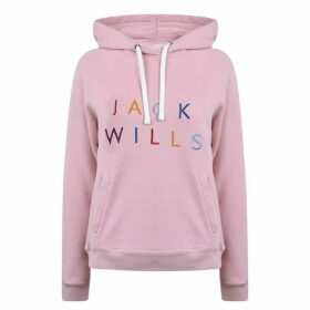 Jack Wills Glendale Hoodie - Dusky Pink