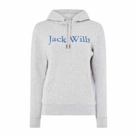 Jack Wills Womens Hartford Hoody - Grey Marl