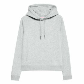 Jack Wills Collingdon Raglan Hoodie - Grey Marl