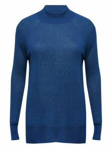 Women's Ladies lightweight funnel neck jumper