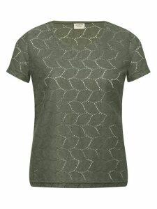 Women's Ladies JDY crochet lace t-shirt
