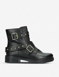 Kurt Geiger London Stinger studded leather boots, Size: EUR 35 / 2 UK WOMEN