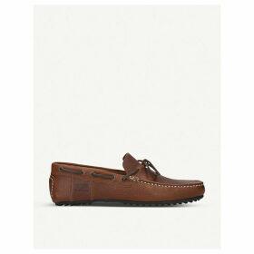 Elden leather driver shoes