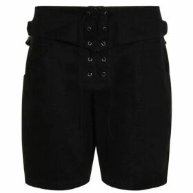 Saint Laurent Lace Shorts