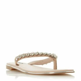 Dune Newbey Diamante Toepost Sandals