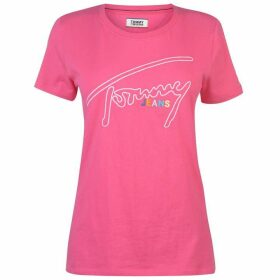 Tommy Jeans Tommy Signature T Shirt Womens