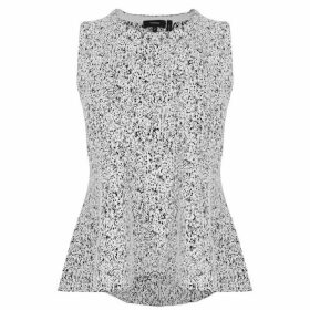 THEORY Colisha Peplum Top