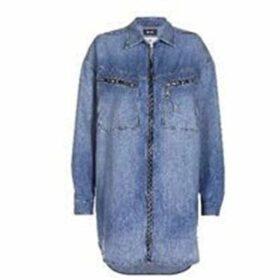Diesel De Eufrasia Denim Shirt Dress