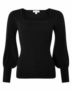 Monsoon Serina Square Neck Jumper