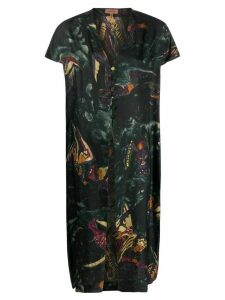 Romeo Gigli Pre-Owned 1990s angel print maxi top - Green