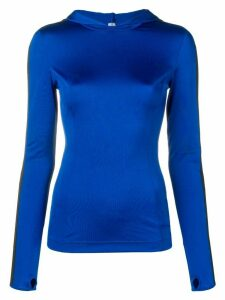 No Ka' Oi fitted sports sweater - Blue