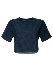 The Upside cropped T-shirt - Blue