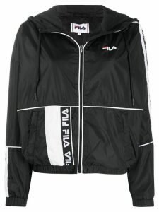 Fila panelled windbreaker performance jacket - Black