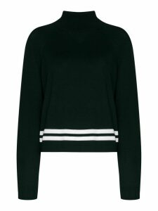 LNDR Arctic knit high-neck jumper - Green