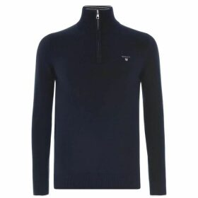 Gant Zip Knit Sweater