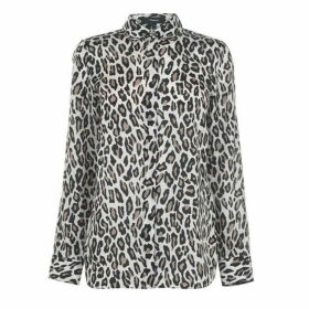 Theory Theory WomenS Leopard Shirt