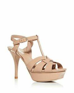Saint Laurent Women's Tribute Platform High-Heel Sandals