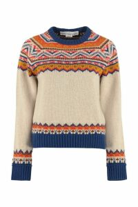 Golden Goose Momo Crew-neck Wool Sweater